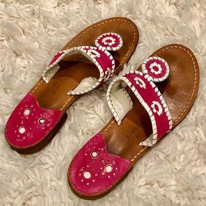 Jack Rogers Pink Sandals